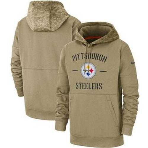 Pittsburgh Steelers 2019 Pullover Hoodie Salute to Service Hoodies