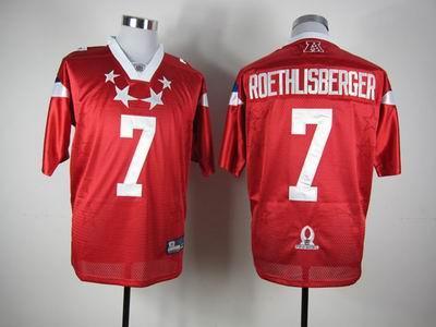 Pittsburgh Steelers 7 Ben Roethlisberger 2012 Pro Bowl AFC Jersey