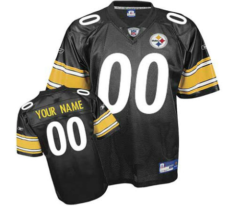 Pittsburgh Steelers Customized Team Color Jerseys