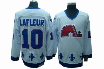 Quebec Nordiques #10 GUY LAFLEUR CCM jerseys white
