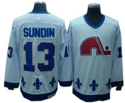 Quebec Nordiques jeresy #13 mats sundin CCM Jerseys white