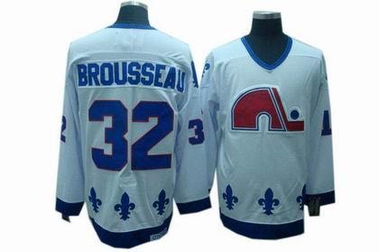 Quebec Nordiques jersey #32 Paul Brousseau CCM Jerseys white