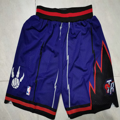 Raptors Purple Nike Mesh Shorts