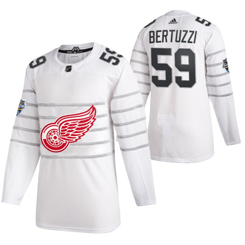 Red Wings 59 Tyler Bertuzzi White 2020 NHL All-Star Game Adidas Jersey