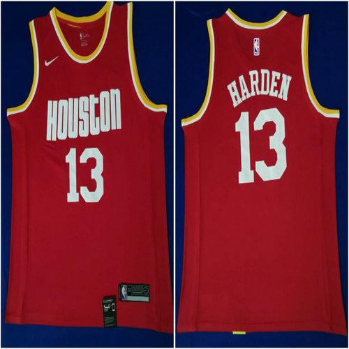 Rockets 13 James Harden Red Nike Swingman Jersey