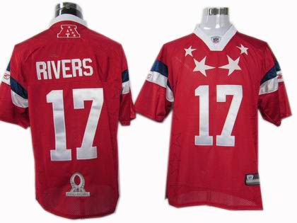San Diego Chargers #17 Phillip Rivers 2011 Pro Bowl AFC Jersey