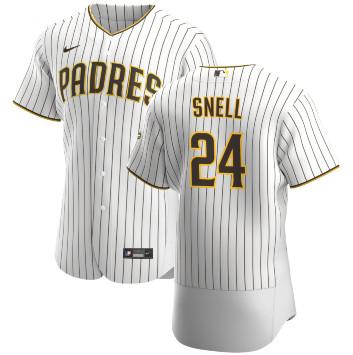 San Diego Padres #24 Blake Snell Flexbase White Jersey