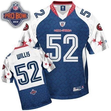 San Francisco 49ers #52 Patrick Willis 2010 Pro Bowl NFC