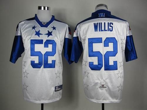 San Francisco 49ers 52 Patrick Willis 2012 Pro Bowl NFC Jersey