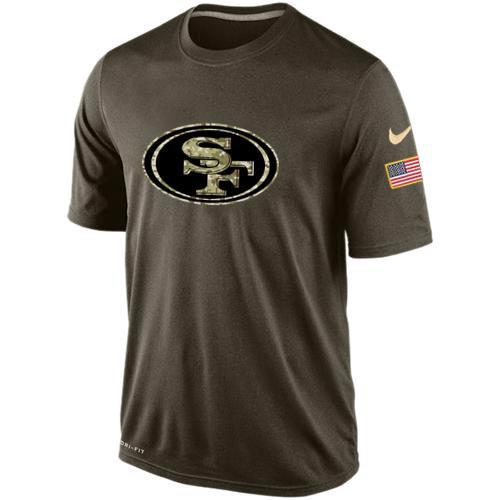 San Francisco 49ers Salute To Service Nike Dri-FIT T-Shirt