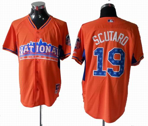 San Francisco Giants 19# Marco Scutaro National League 2013 All Star Jersey