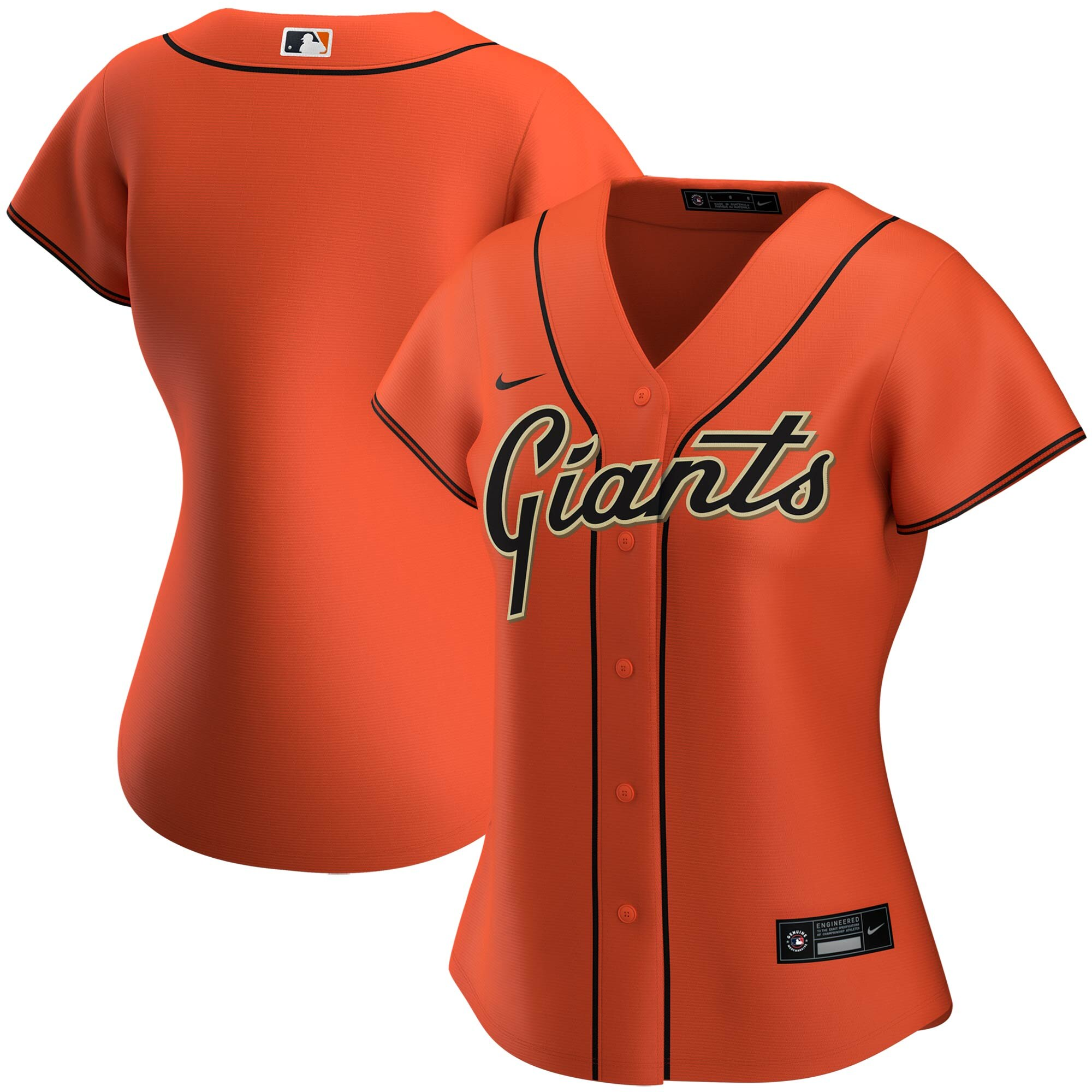 San Francisco Giants Nike Women's Alternate 2020 MLB Team Jersey Orange