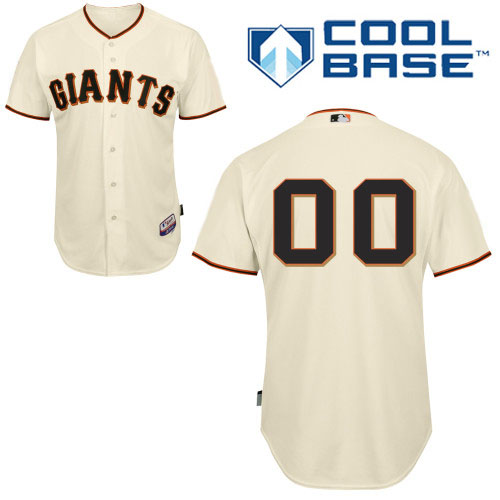 San Francisco Giants Personalized Custom cream MLB Jersey