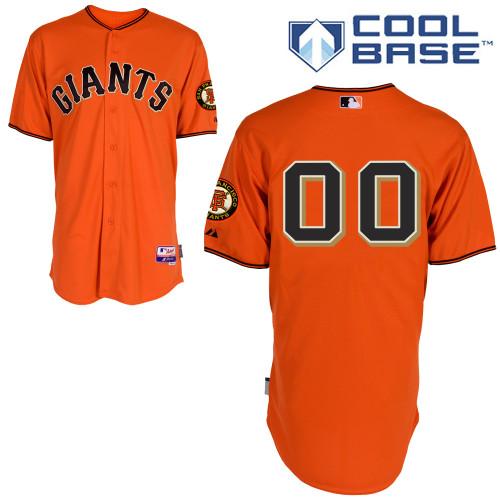 San Francisco Giants Personalized Custom orange MLB Jersey