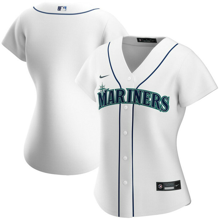 Seattle Mariners Nike Women's Home 2020 MLB Team Jersey White