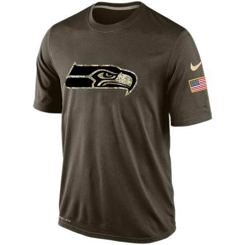 Seattle Seahawks Salute To Service Nike Dri-FIT T-Shirt