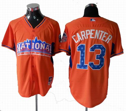 St. Louis Cardinals 13# Matt Carpenter National League 2013 All Star Jersey