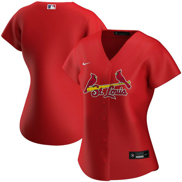 St. Louis Cardinals Nike Women's Alternate 2020 MLB Team Jersey Red