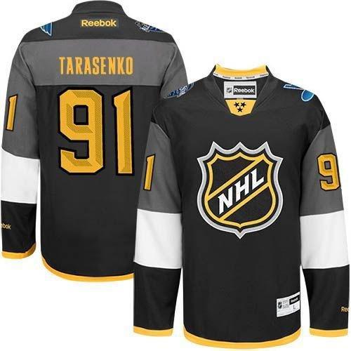St Louis Blues 91 Vladimir Tarasenko Black 2016 All Star NHL Jersey