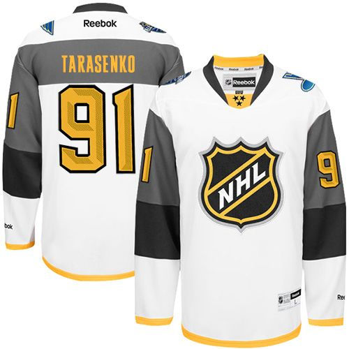 St Louis Blues 91 Vladimir Tarasenko White 2016 All Star NHL Jersey