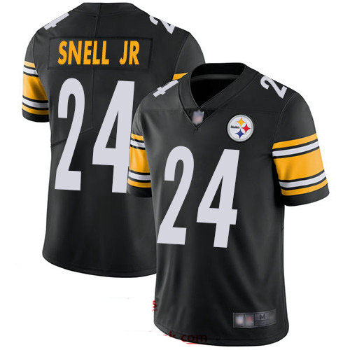 Steelers #24 Benny Snell Jr. Black Team Color Youth Stitched Football Vapor Untouchable Limited Jersey