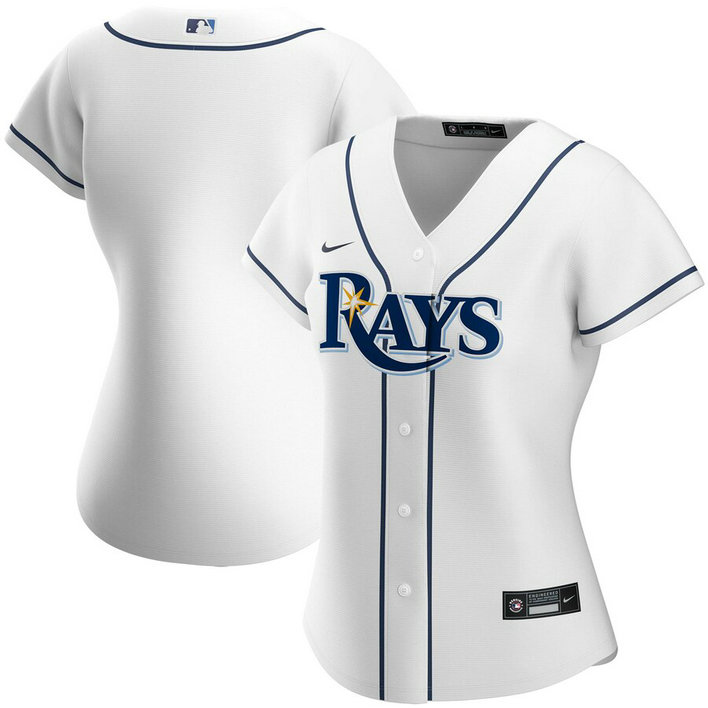 Tampa Bay Rays Nike Women's Home 2020 MLB Team Jersey White