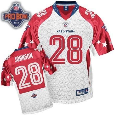 Tennessee Titans #28 Chris Johnson 2010 Pro Bowl AFC