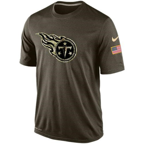 Tennessee Titans Salute To Service Nike Dri-FIT T-Shirt