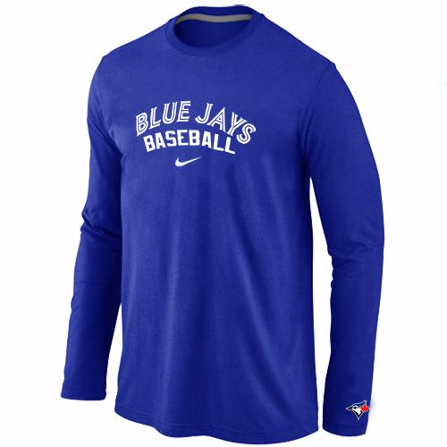 Toronto Blue Jays Long Sleeve T-Shirt Blue
