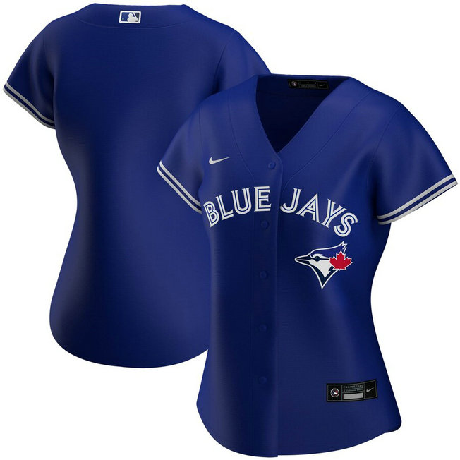 Toronto Blue Jays Nike Women's Alternate 2020 MLB Team Jersey Royal