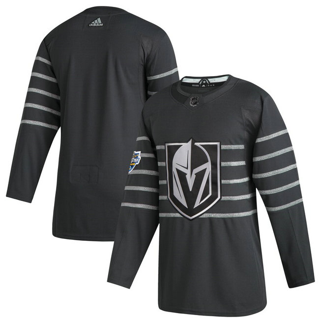 Vegas Golden Knights Blank Gray 2020 NHL All-Star Game Adidas Jersey