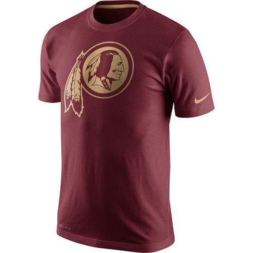 Washington Redskins Nike Championship Drive Gold Collection Performance T-Shirt Burgundy
