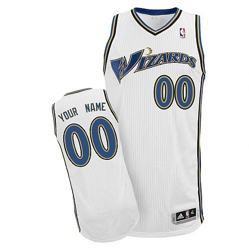 Washington Wizards Personalized custom White Jersey (S-3XL)