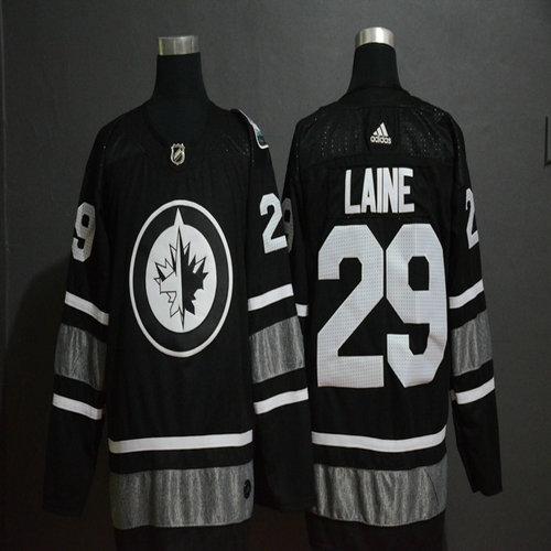 Winnipeg Jets 29 Patrik Laine Black 2019 NHL All-Star Adidas Jersey