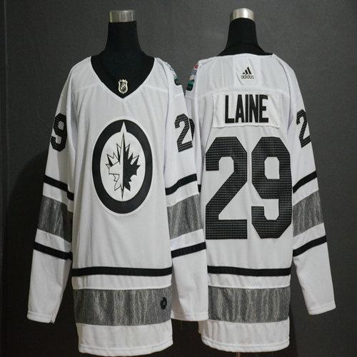 Winnipeg Jets 29 Patrik Laine White 2019 NHL All-Star Adidas Jersey