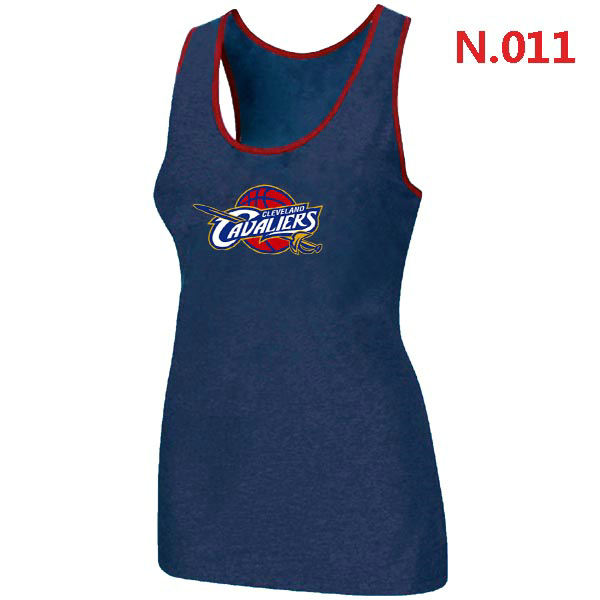 Women Cleveland Cavaliers Big  Tall Primary Logo D.Blue Tank Top