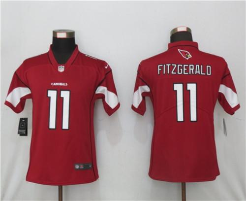 Women Nike Arizona Cardinals #11 Larry Fitzgerald Red 2020 Vapor Untouchable Jersey