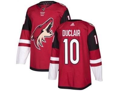 Youth Adidas Phoenix Coyotes #10 Anthony Duclair Maroon Home NHL Jersey