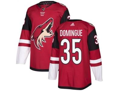 Youth Adidas Phoenix Coyotes #35 Louis Domingue Maroon Home NHL Jersey