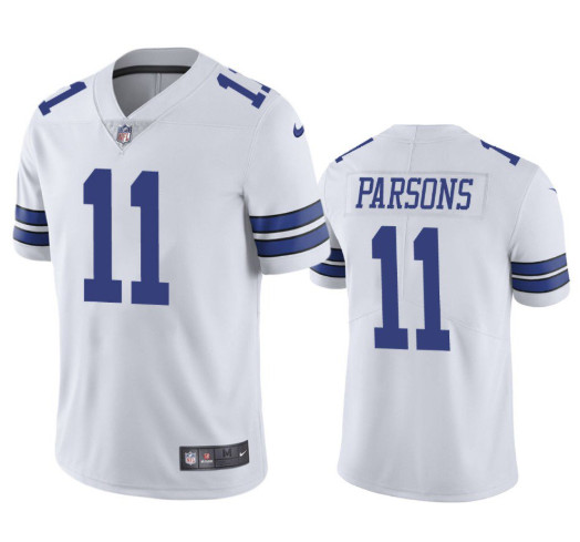Youth Dallas Cowboys #11 Micah Parsons Jersey White 2021 Draft Jersey