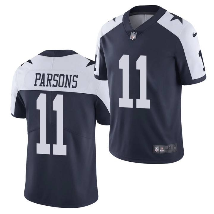 Youth Dallas Cowboys #11 Micah Parsons Jersey White 2021 Draft Limited Jersey