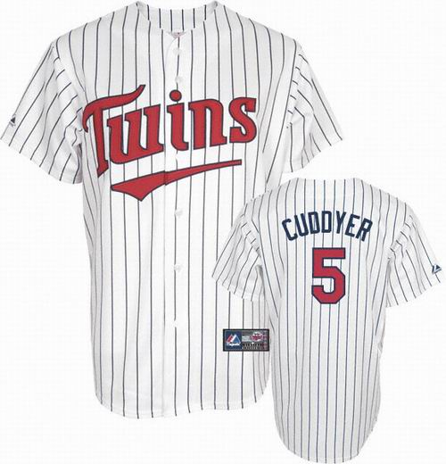 Youth Minnesota Twins #5 Michael Cuddyer 2010 white jersey
