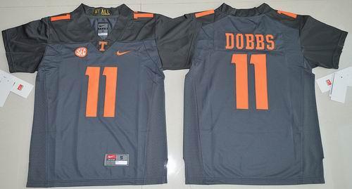 Youth NCAA Tennessee Vols #11 Joshua Dobbs Jersey