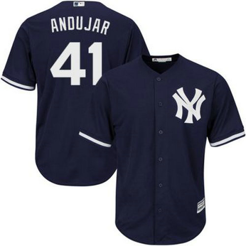 Youth New York Yankees Miguel Andujar #41 Navy Blue Jersey