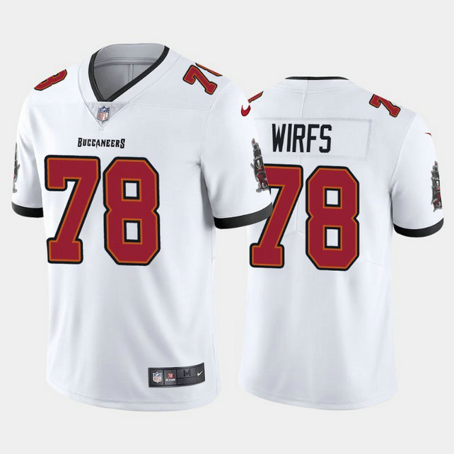 Youth Nike Buccaneers 78 Tristan Wirfs White Youth 2020 NFL Draft First Round Pick Vapor Untouchable Limited Jersey