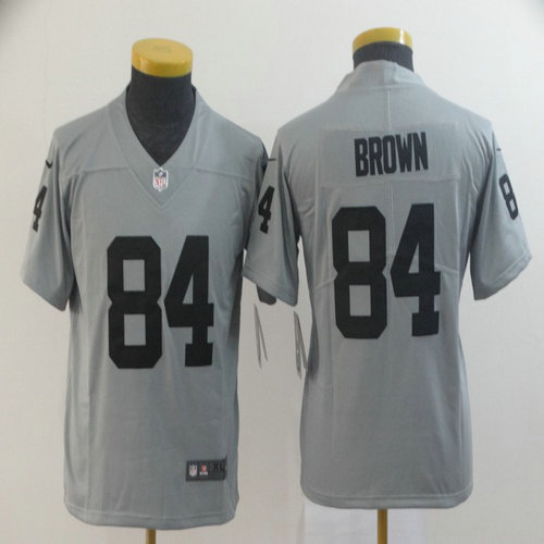 Youth Nike Raiders 84 Antonio Brown Gary Youth Inverted Legend Limited Jersey