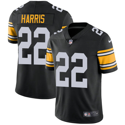 Youth Nike Steelers #22 Najee Harris Black Alternate Youth Stitched NFL Vapor Untouchable Limited Jersey
