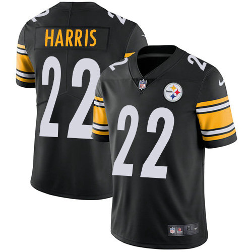 Youth Nike Steelers #22 Najee Harris Black Team Color Youth Stitched NFL Vapor Untouchable Limited Jersey