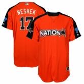 Youth Philadelphia Phillies #17 Pat Neshek Orange National League 2017 MLB All-Star MLB Jersey