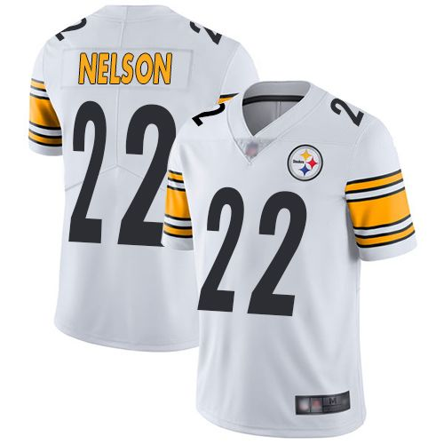 Youth Pittsburgh Steelers Steven Nelson #22 NFL Vapor limited White Jersey